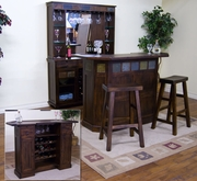 Server & Back Bar by Sunny Designs Furniture Santa Fe Collection 441-2413DC