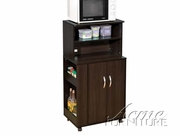 Wales Kitchen Cart, Espresso by Acme 491-02329