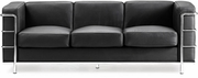 Fortress Sofa Black by Zuo Furniture 865-900230