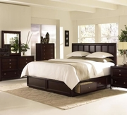 King Bed Complete With Underbed Storage by Klaussner Furniture Proximity Collection 345-761066KBED