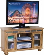 TV Console, 46X18X27H by Sunny Designs Furniture Sedona Collection 441-3359RO