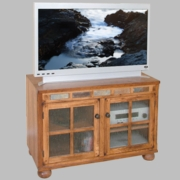 "TV Console 42""X20""X27.5""H by Sunny Designs Furniture Sedona Collection 441-2753RO"