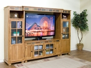 "TV Console 62""W by Sunny Designs Furniture Sedona Collection 441-2754RO"