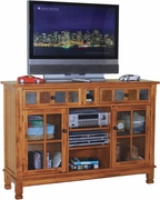 "TV Console (With I-Pod Dock) 42""H by Sunny Designs Furniture Sedona Collection 441-2799RO"