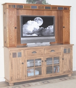 Media Hutch by Sunny Designs Furniture Sedona Collection 441-3322RO-MH