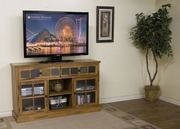 "60"" TV Console, 60X16.5X36H by Sunny Designs Furniture Sedona Collection 441-2733RO"