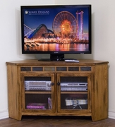 Corner TV Console, 55X20X32H by Sunny Designs Furniture Sedona Collection 441-3399RO