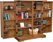 "Folding Cd Rack 36""W by Sunny Designs Furniture Sedona Collection 441-2723RO"