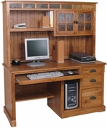 Computer Desk Hutch, 58W by Sunny Designs Furniture Sedona Collection 441-2863RO-H