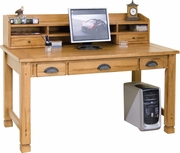 Laptop Desk-Hutch, 57X10X13H by Sunny Designs Furniture Sedona Collection 441-2865RO-H