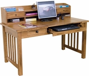 "Laptop/Writing Desk, 58"" W by Sunny Designs Furniture Sedona Collection 441-2865RO"
