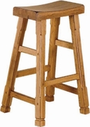 "Saddle Seat Barstool 30""H (Set of 2) by Sunny Designs Furniture Sedona Collection 441-1721RO"