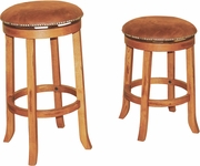 "Swivel Barstool Without Back 30""H (Set of 2) by Sunny Designs Furniture Sedona Collection 441-1783RO"