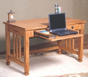 "Writing/Laptop Desk 50""W by Sunny Designs Furniture Sedona Collection 441-2868RO"