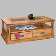 End Table by Sunny Designs Furniture Sedona Collection 441-3160RO-E