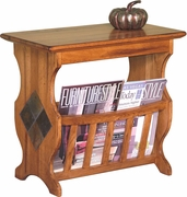 Magazine Table by Sunny Designs Furniture Sedona Collection 441-2133RO