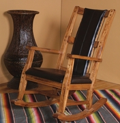 Rocker With Cushion Seat & Back by Sunny Designs Furniture Sedona Collection 441-1935RO