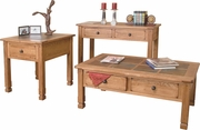 Sofa Table With Slate Top by Sunny Designs Furniture Sedona Collection 441-3145RO