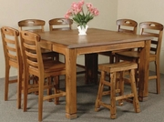 Family Table by Sunny Designs Furniture Sedona Collection 441-1245RO