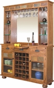 Server & Back Bar by Sunny Designs Furniture Sedona Collection 441-2413RO