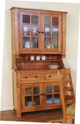 "Hutch & Buffet 42""W by Sunny Designs Furniture Sedona Collection 441-2412RO"