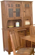 "Hutch & Buffet 51""W by Sunny Designs Furniture Sedona Collection 441-2416RO"