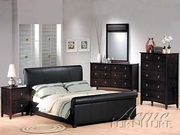 Milano Leather Mirror by Acme Furniture Milano III Collection 491-7655A