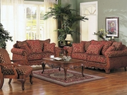 3 Piece Sofa Set (Sofa, Loveseat, Chair) by Acme 491-5615-BDF1-3