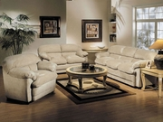 3 Piece Microfiber Sofa Set With Sofa, Loveseat and Chair by Acme Furniture Bella Collection 491-5550-BDF1-3