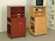 Cherry Finish Kitchen Cart by Acme Furniture Wales Collection 491-2327