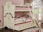 Twin/Twin Bunk Bed by Acme Furniture Doll House Collection 491-2600