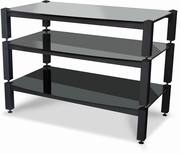"3-Tier AV Frames Only (2-7"" & 1-10"" With Square Posts) by Lovan Furniture Sovereign Collection 682-L-SOV-FAVR"