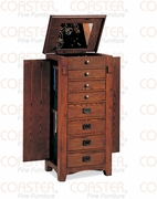 Jewelry Armoire by Coaster Fine Furniture 635-900045