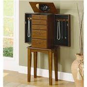 Jewelry Armoire by Coaster Fine Furniture 635-900126