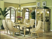 7 Piece Dining Set With Table and 6 Side Chairs by Acme Furniture Artemis II Collection 491-9740-BDF1-7