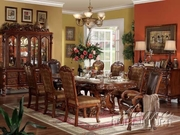 7 Piece Dining Set With Table, 4 Side Chairs and 2 Arm Chairs by Acme Furniture Dresden Collection 491-12150-BDF1-7