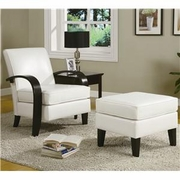 Chair/Ottoman by Coaster Fine Furniture 635-900242