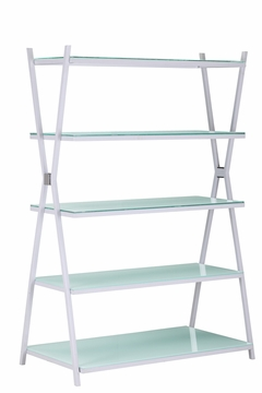 Xert Wide Shelf White (Qty 1) by Zuo Furniture 865-404202