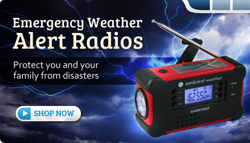 Emergency Weather Alert Radios