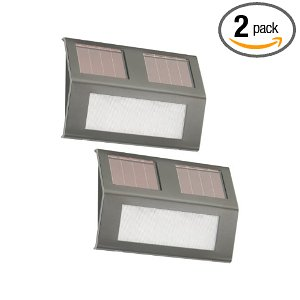 Nature Power 21060 Solar Step Lights - 2 Pack