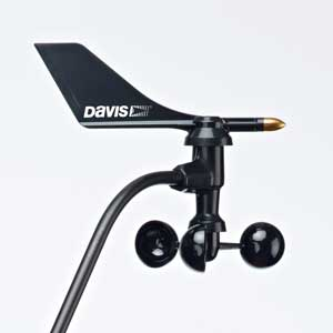 Davis Instruments 7906L 7906 Wind Vane (with logo) for 2013 and Newer 6410 Anemometer