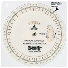 Weems & Plath 105 Nautical Slide Rule