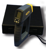 General Tools IRT500DL High Range Infrared Thermometer 50:1 Optics w/ Data Logging & K port