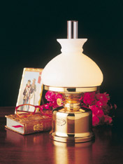 Weems & Plath ES 50 11 09 Old Danish Table Lamp/Vesta