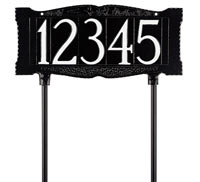 "Whitehall 4"" Number Lawn Sign (9001)"