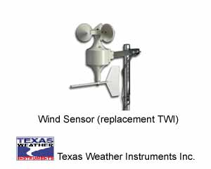 Texas Weather Instruments TW-WS 002 Wind Sensor (replacement TWI)
