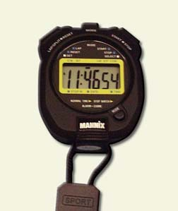 General Tools SW269 Display Multi-Function Stopwatch