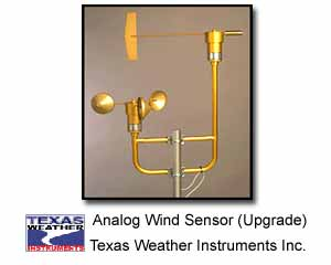 Texas Weather Instruments 013 Analog Wind Sensor (TE Replacement)