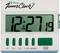 General Tools TI872 Big Digit Desktop Timer with Clock
