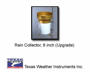 Texas Weather Instruments 014 Rain Collector, 8 inch (Replacement)